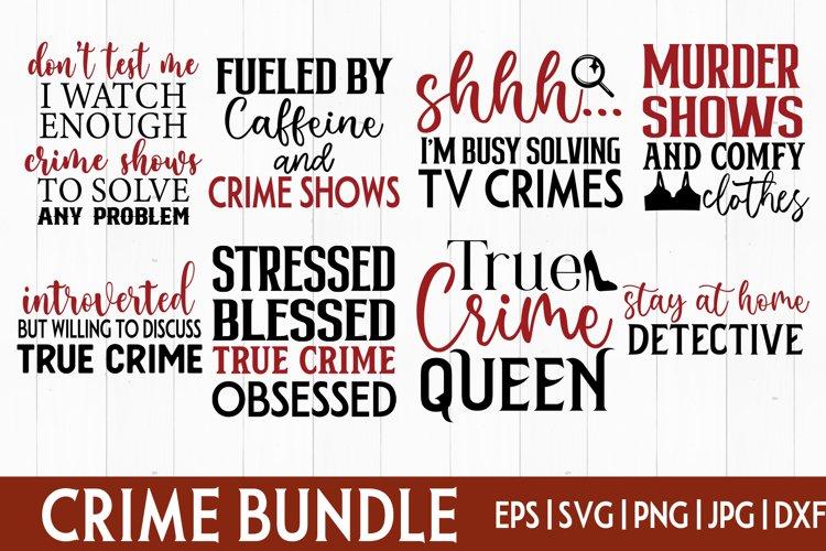 Crime show bundle SVG| Murder shows bundle|True Crime bundle