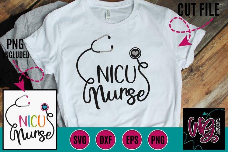 NICU Nurse SVG DXF PNG EPS