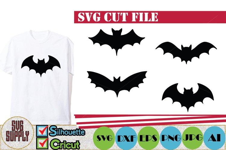 Halloween Bats SVG Cut File