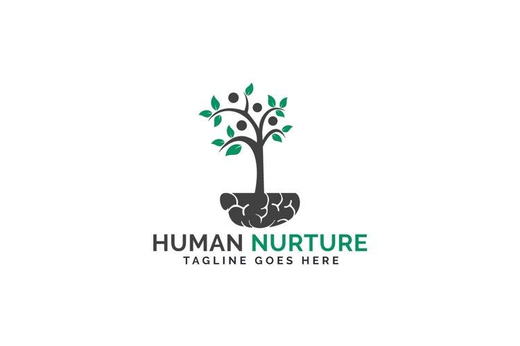 Human Nurture Logo Design. example image 1