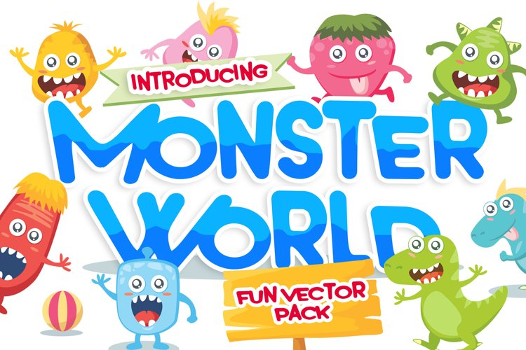 Monster Vector Pack example image 1