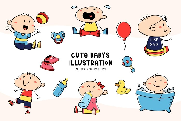 Baby Illustrations