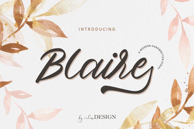 Blaire Font
