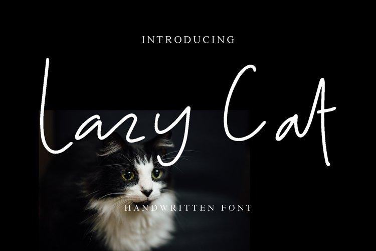 Lazy Cat example image 1