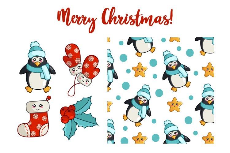 Christmas Kawaii Collection - vol.4 example image 1