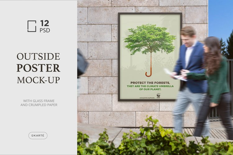 Outside Poster Mock-Ups