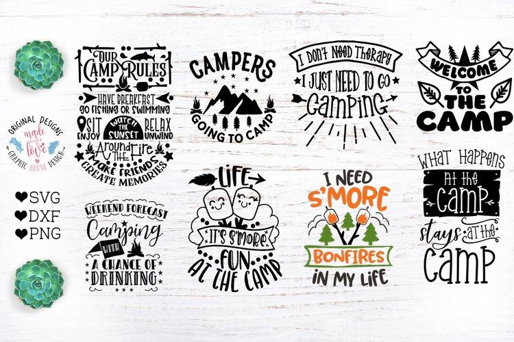 Camp Quotes Bundle Cut Files and Sublimation Bundle