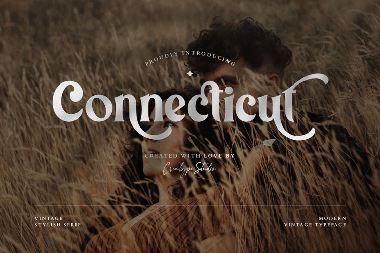 Connecticut Modern Vintage Typeface example image 1