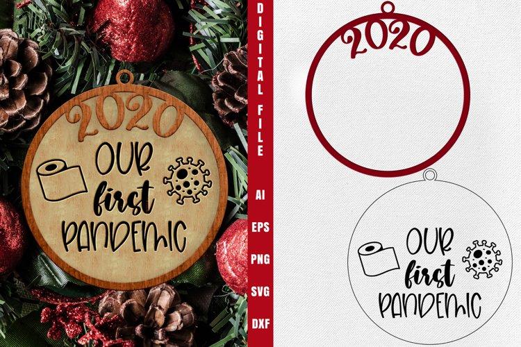 Christmas Ornament - Round Christmas Designs SVG