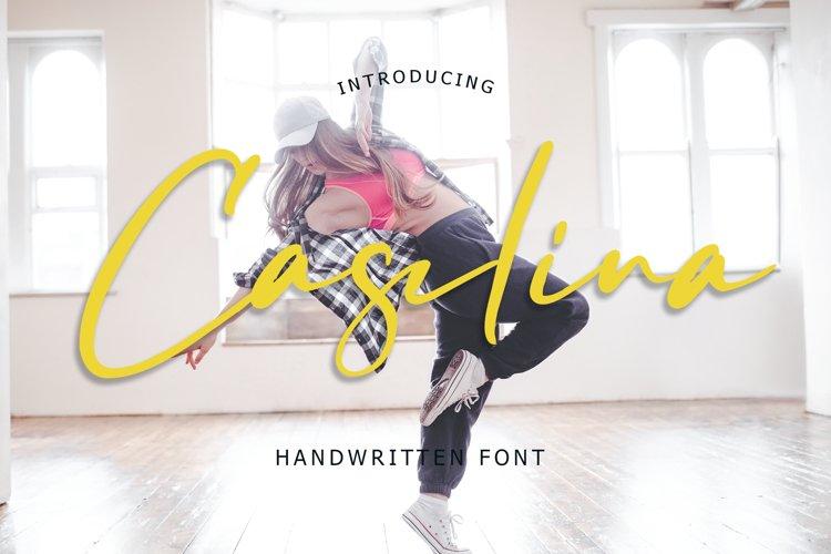 Caselina Handwritten Font example image 1