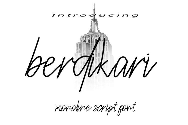 Berdikari example image 1