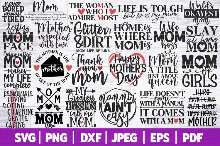 Mothers Day Bundle SVG | Mom Life SVG Bundle | Mom Bundle