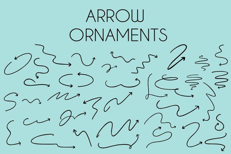 arrow ornaments dingbats