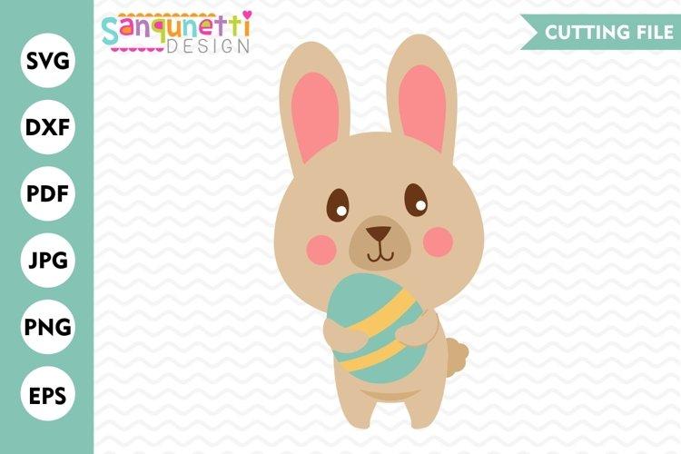 Bunny SVG, Easter SVG, Easter egg SVG, Spring SVG