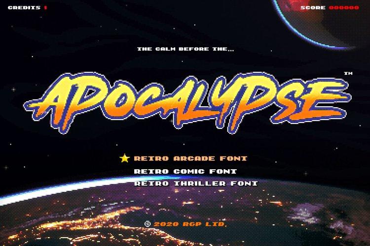 Apocalypse | Retro Action Font