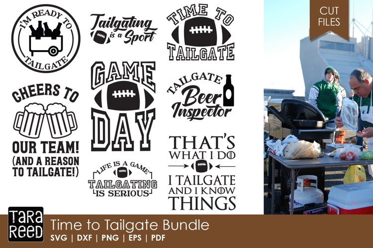 Time to Tailgate Bundle example image 1