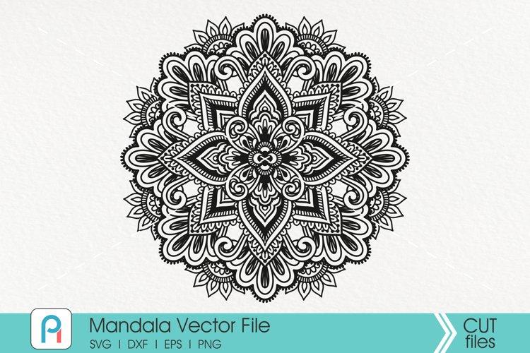 Mandala Svg, Zentangle Svg, Mandala Sunflower Svg, Mandala