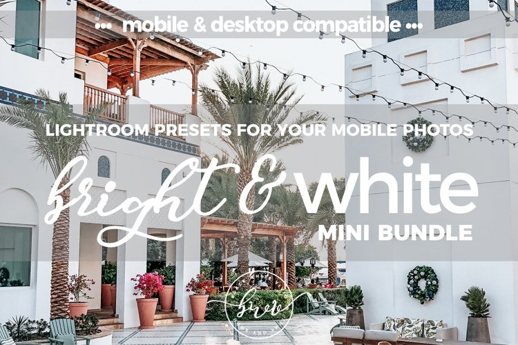 Bright & White Mobile Desktop Presets example image 1
