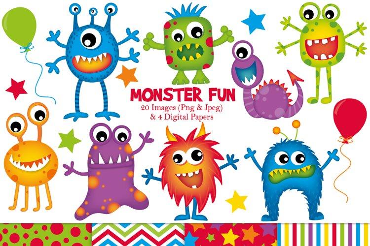 Monster clipart, Monster graphics   illustrations