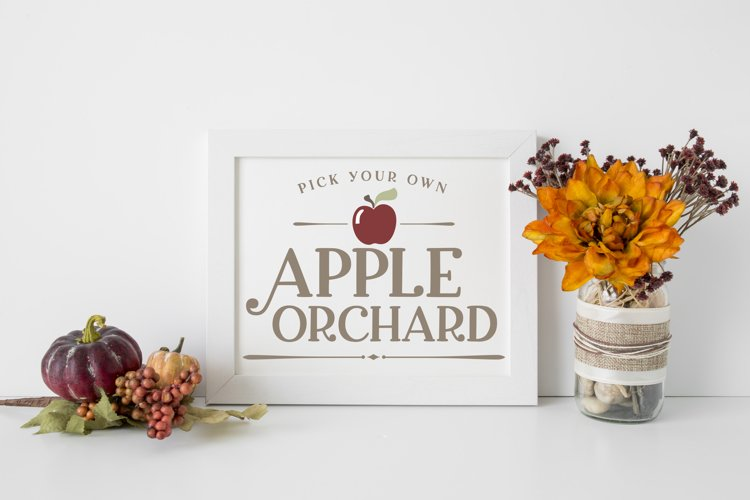 Apple Orchard SVG example image 1