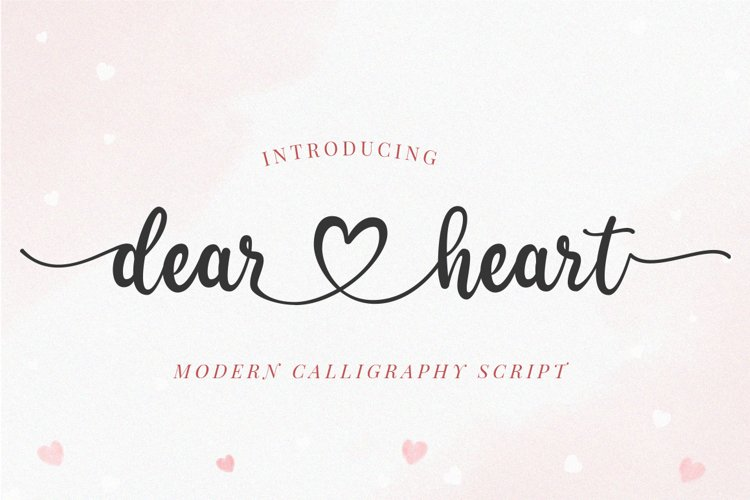 Dear Heart - Lovely Script