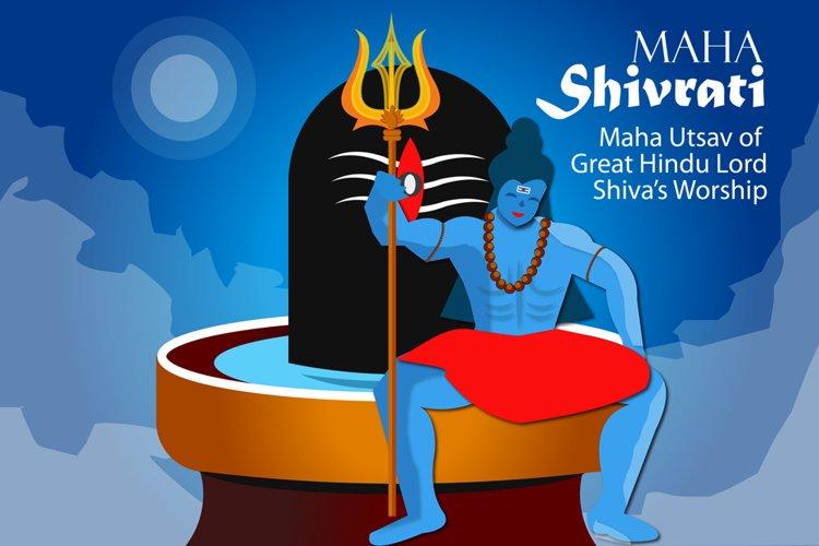 Shiva Deity Illustration example image 1
