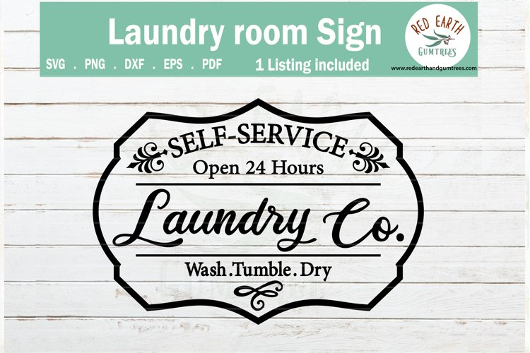 Laundry room sign wall decal, farmhouse svg SVG,PNG,DXF,EPS