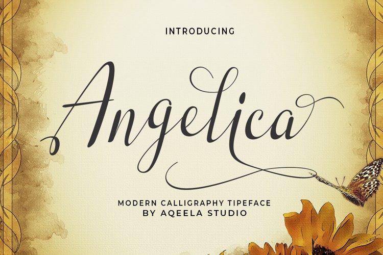 Angelica Script example image 1