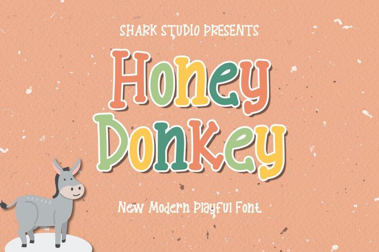 Honey Dongkey example image 1