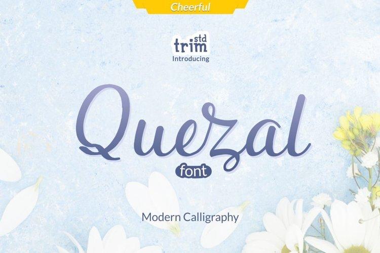 Quezal - Modern Calligraphy example image 1