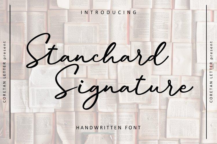 Stanchard Signature example image 1