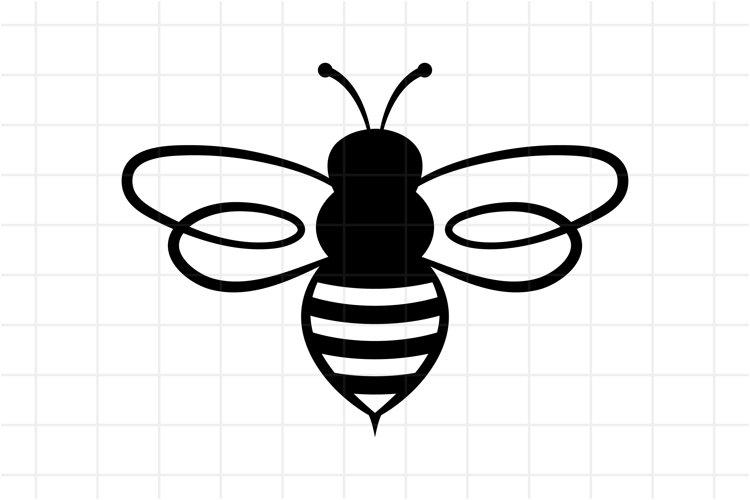 Bee SVG, Honey Bee SVG Cut File, Cricut Cutting File
