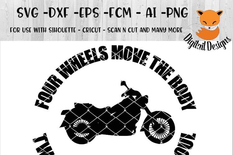 Motorcycle SVG - png - eps - dxf - ai - fcm - Biker SVG - Silhouette - Cricut - Scan N Cut - Biker Hair SVG