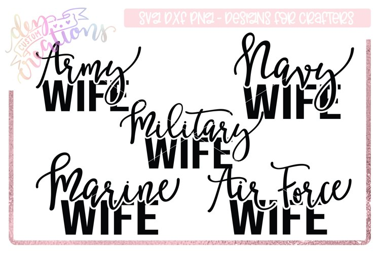 Military Wife SVG Bundle