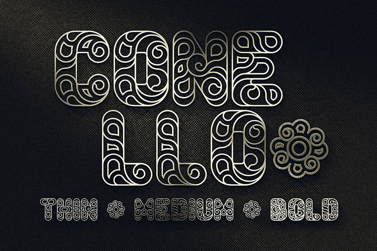 Conello - Display Font example image 1