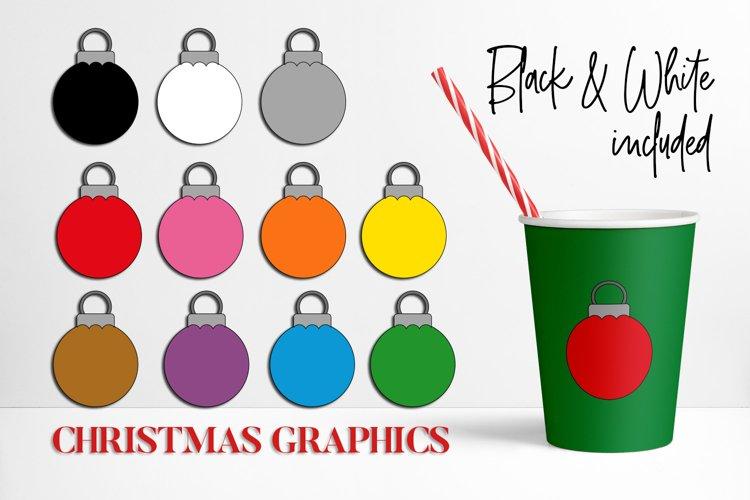 Christmas Ball Ornaments, Rainbow Colors