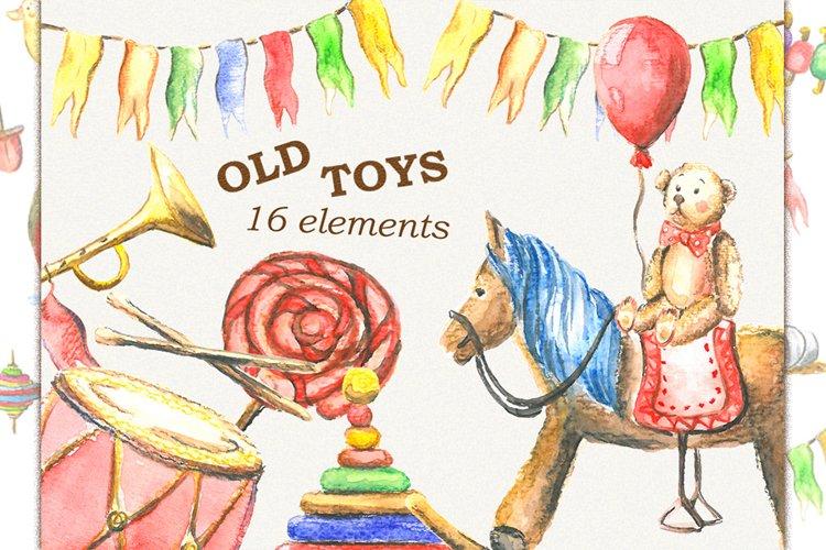 Toys clipart, kids clipart, Retro toys, vintage toys