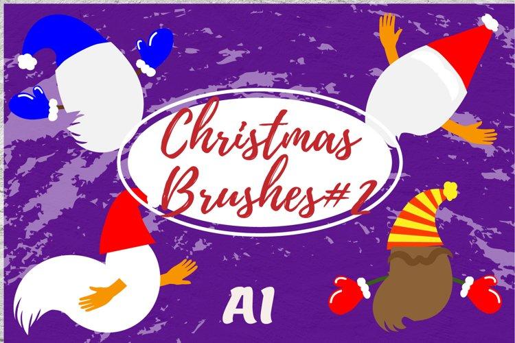 Christmas brushes#2 example image 1