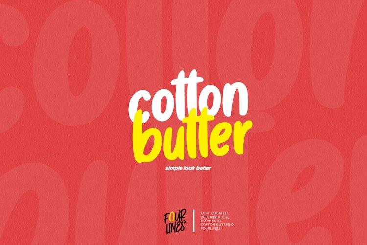 Cotton Butter example image 1