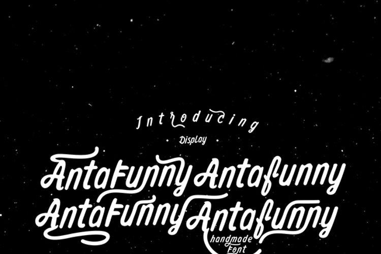 Antafunny Font