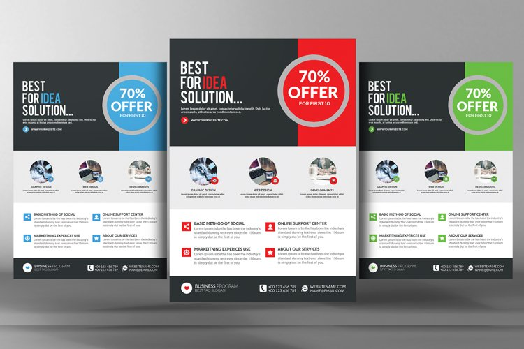 Business Marketing Flyer Template example image 1