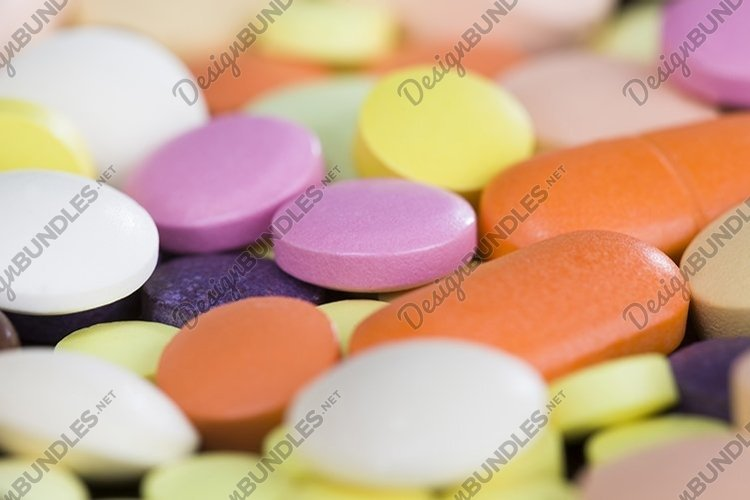 many tablets of different colors example image 1