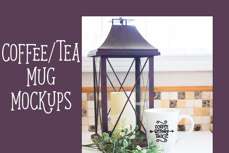 Coffee Mug Mockup - Rustic Farmhouse style