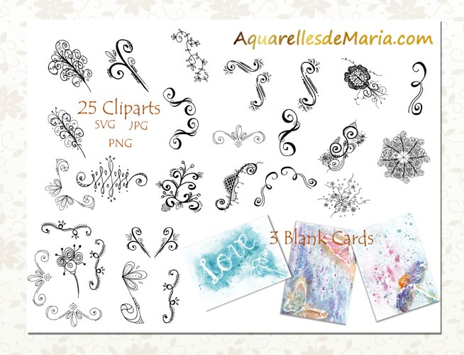 Flourish Vector Clipart Collection