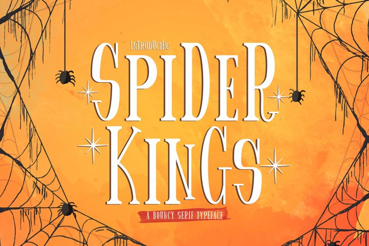 Spider King - Beautiful Serif Font example image 1