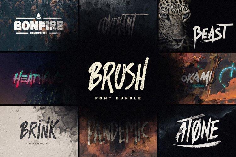 Brush Font Bundle