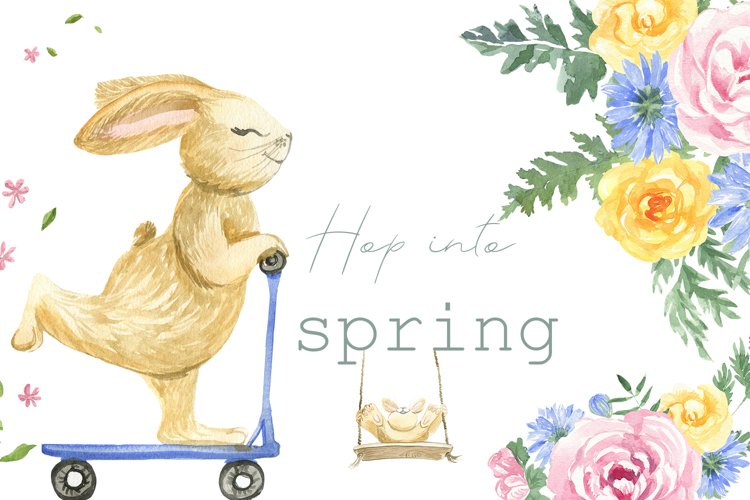 Hop into the spring example image 1