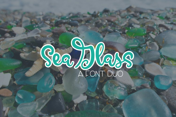 SeaGlass - A Font Duo example image 1