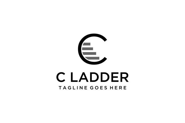 modern C ladder logo example image 1