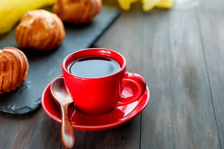 Breakfast coffee flaky pastry example image 1
